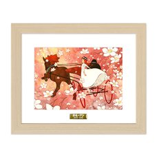 """""""Yorokobi no Shiro Michi"""" Chara Fine Graph Print"""