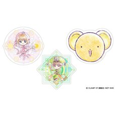 Cardcaptor Sakura Acrylic Coaster Collection