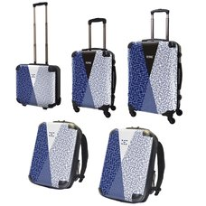 Tetris Art Suitcase & Rucksack Collection: Modern Japanese Pattern Vol. 3