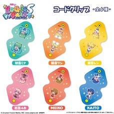 Hatsune Miku Logic Paint S Cord Clip Collection