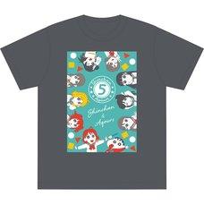 Crayon Shin-chan x Love Live! Sunshine!! Shin-chan & Aqours T-Shirt Vol. 2