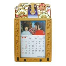 Spirited Away 2018 Stained Frame Calendar