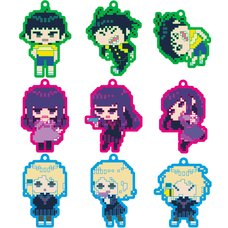 High Score Girl Collectible Rubber Straps: 8-Bit Ver. Box Set