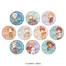 Hetalia: World Stars Badge Collection Vol. 2 Box Set
