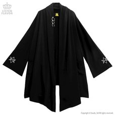 LISTEN FLAVOR Long Knit Robe