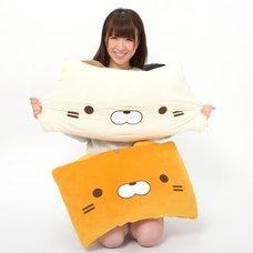 Sasurai no Tabineco Mikemura-san Marshmallow Square Cushions