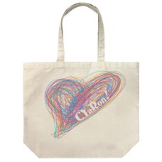 Love Live! Sunshine!! CYaRon Large Natural Tote Bag