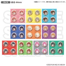 Love Live! Nijigasaki High School Idol Club Love Live! School Idol Store Official Pin Badge Set Vol. 2