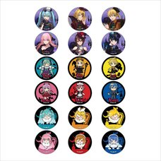 Hatsune Miku Halloween Mad Tea Party Ver. Trading Pin Badge