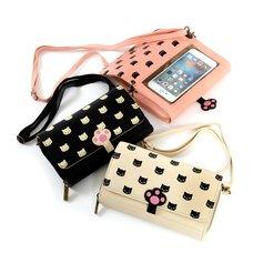 Nikukyu Pooh-chan Smartphone Wallet