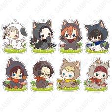 Bungo Stray Dogs Kigurumi Series: Doggy Ver. Acrylic Strap Box Set