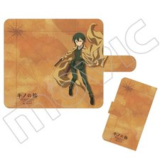 Kino's Journey: The Beautiful World - The Animates Series Notebook-Style Smartphone Cover