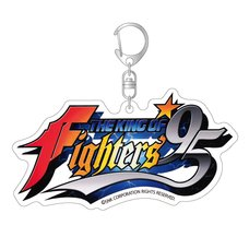 The King of Fighters '95 Title Logo Acrylic Keychain