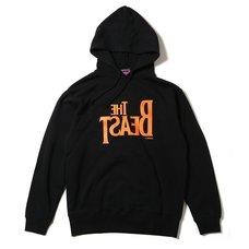 Radio Eva 395 The Beast Black x Orange Hoodie β