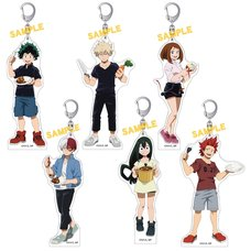 My Hero Academia Curry Acrylic Keychain Collection