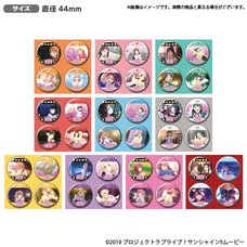 Love Live! Sunshine!! The School Idol Movie: Over the Rainbow Uranohoshi Girls' High School Store Official Pin Badge Collection Vol. 8