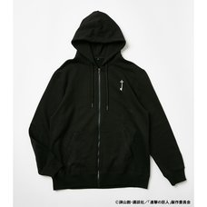 Attack on Titan R4G Key Black Zip Hoodie