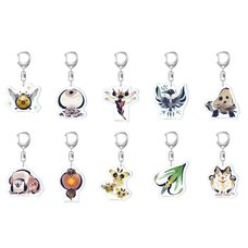Monster Hunter Rise Environmental Biology Icon Acrylic Strap Collection Vol. 2 Box Set