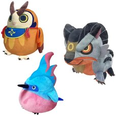 Monster Hunter Rise Plush Collection Vol. 4