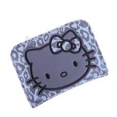 Hello Kitty Grey Leopard Bifold Wallet