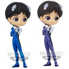Q Posket Rebuild of Evangelion Shinji Ikari: Plugsuit Style