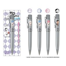 Re:Zero -Starting Life in Another World- Stamp Pen G Knock Character Ballpoint Pen w/ Stamp Vol. 1