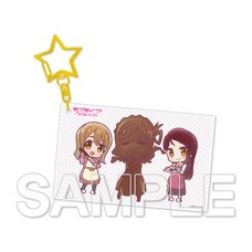 Love Live! Sunshine!! Aqours Riko & Hanamaru & Mari Vol. 4 Acrylic Keychain