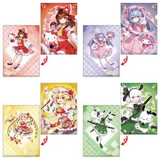 Touhou Project x Sanrio Characters Clear File Collection Vol. 2