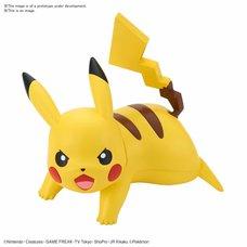 Pokémon Model Kit Quick!! 03: Pikachu Battle Pose