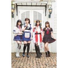 Kantai Collection -KanColle- Kanmusu Command Unit Photo Book: Kaga & Haruna & Oyodo & Yudachi