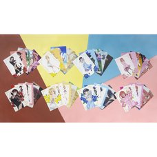 Rent-A-Girlfriend Party Dress to Kanojo Illustration Card Set
