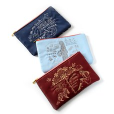 Eleu Nani Lapule All My Time Embroidered Multi-Use Pouch