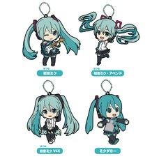 Nendoroid Plus: Hatsune Miku Collectible Rubber Keychain Box Set