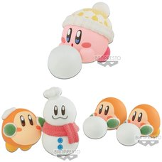Kirby Fluffy Puffy Mine -Snowy Playtime-