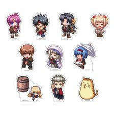 Little Busters! Acrylic Badge Gacha
