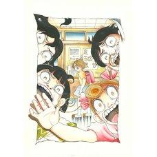 Kanako Inuki Fushigi no Tatari-chan Vol. 3 Reproduction Art Print