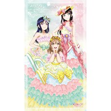 Love Live! Sunshine!! Unit Live Adventure 2020 Live & Fan Meeting 2018 Winner Memorial AZALEA Full-Color Towel