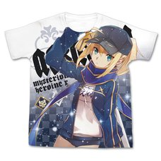Fate/Grand Order Mysterious Heroine X Full-Color White T-Shirt