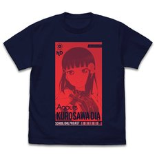 Love Live! Sunshine!! Dia Kurosawa: All Stars Ver. Navy T-Shirt