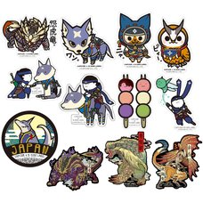 Capcom x B-Side Label Monster Hunter Sticker Collection Vol. 6