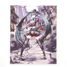Hatsune Miku Metal Edition Art Panel