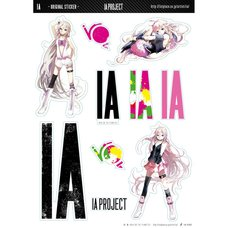 IA x GT Original Stickers