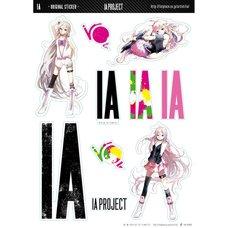 IA x GT Original Stickers