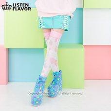 LISTEN FLAVOR Melty Cross Lace-Up Skirt (New)