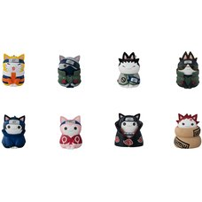 Naruto Nyaruto! Cats of Konoha Village Box Set