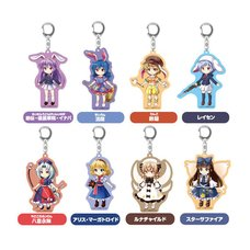 Touhou Lost Word Trading Acrylic Keychain Collection Vol. 3 Box Set