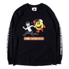 [PDS x Pac-Man] Escape Black Long Sleeve T-Shirt