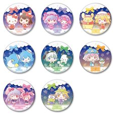 Touhou Project x Sanrio Characters Big Pin Badge Collection