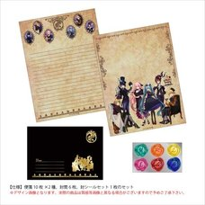 Hatsune Miku Halloween Mad Tea Party hou Ver. Letter Set