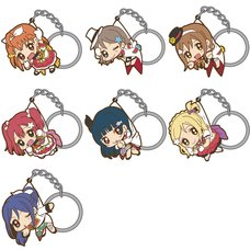 Love Live! Sunshine!! Mirai Ticket Ver. Tsumamare Keychain Collection